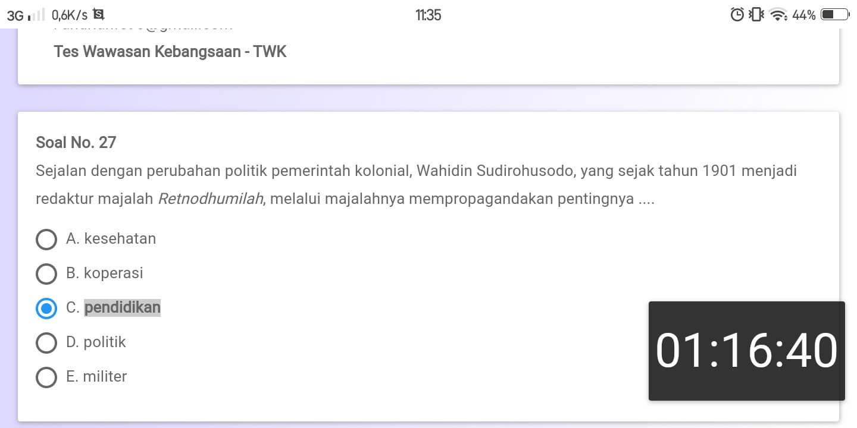 Soal TWK CPNS CAT BKN Online (27)