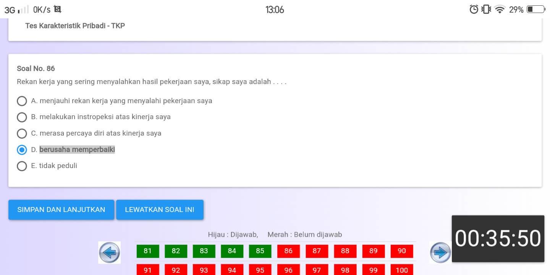 Soal TKP CPNS CAT BKN Online (32)